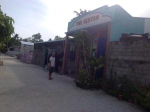 The Gluten, local bakery shop.