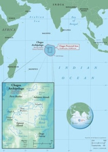 The Location of the Chagos Archipelago