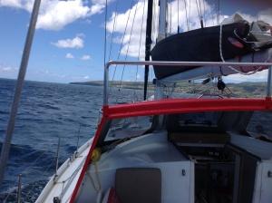 Arriving Rodrigues Island