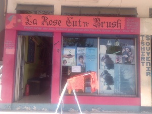 La Rose Cut and Brush